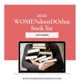2021 WOMENdontDOthat book list