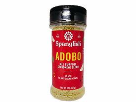Spanglish Adobo All Purpose Seasoning Newest Branding and Packaging
