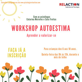 Workshop Autoestima