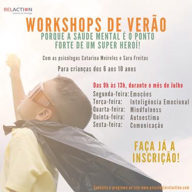 Workshops Verão Crianças