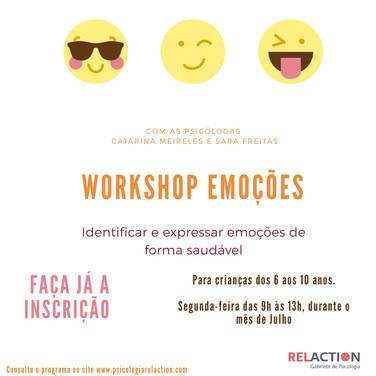 Workshop Emoções