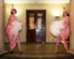 fan dance, burlesque, flamingo flappers, vintge ance, duet, pride performance, feather fan