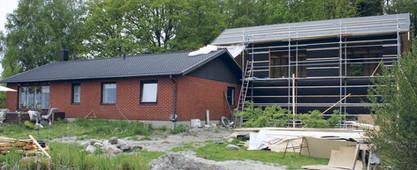 Huset efter ombyggnad