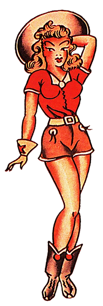 Sailor Jerry Pin Up