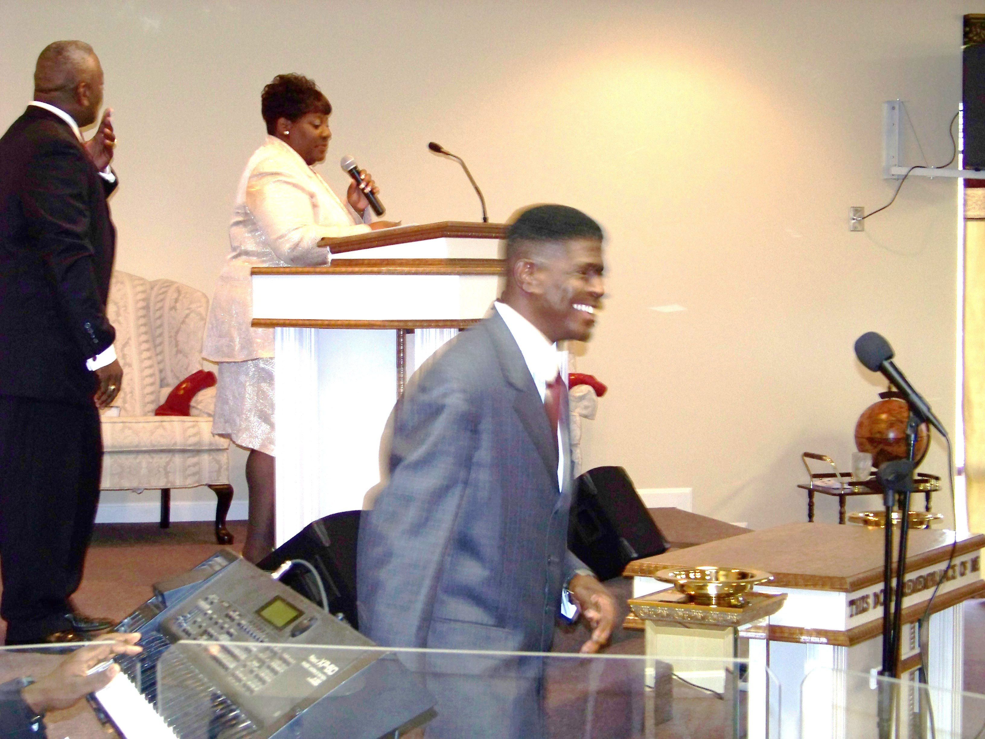Pastors Robert Denise Michael.JPG