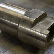 We manufacture guide blocks from 4340 HTSR steel