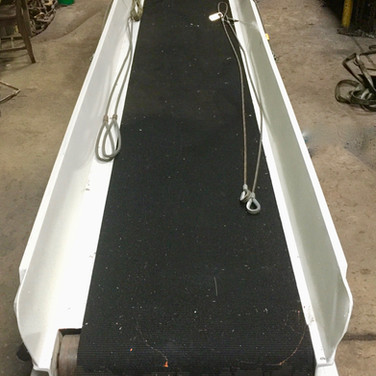 Baggage conveyor refurbishment