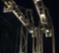 Dock gantry cranes at major container terminal, Port Vancouver