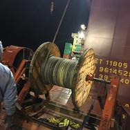 Hoisting wire reinstallation