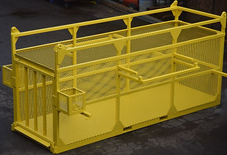 Fabrication of safety equipment lifting basket, Vancover BC