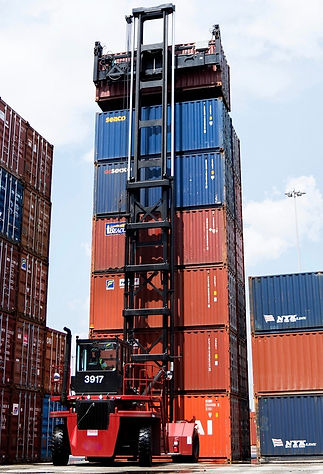 typical container handling machine