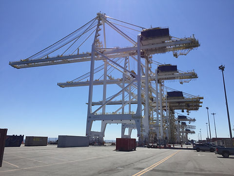 Completed project - cranes operational
