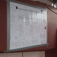 Manufacturer's drawings onsite