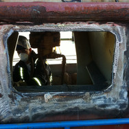 Repair of damaged hatchway