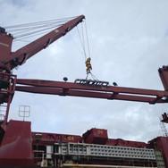 Repair and replace crane jib