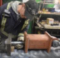 Testing twist lock pin at A-1 Marine premises