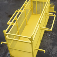 Safety equipment lift basket