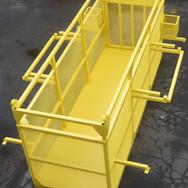 Safety equipment lift basket