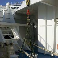 Cruise ship repair