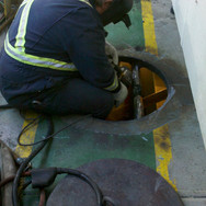 Renew access hatch on deck