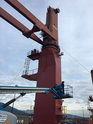A-1 Marine crane repair and service