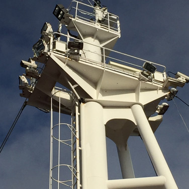 Fore mast light replacement
