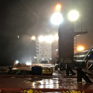 Removal of welded project cargo lashings
