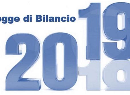 """Novità in materia fiscale – L. 30.12.2018 n. 145 (c.d. """"Legge di bilancio 2019"""")"""