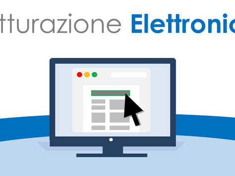 Fatturazione elettronica obbligatoria dal  1 gennaio 2019
