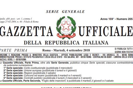 Il testo del decreto privacy attuativo del GDPR è stato pubblicato in Gazzetta Ufficiale del 4 sette