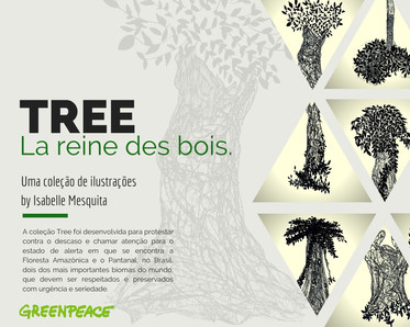 #TREE COLLECTION:la reine des bois.