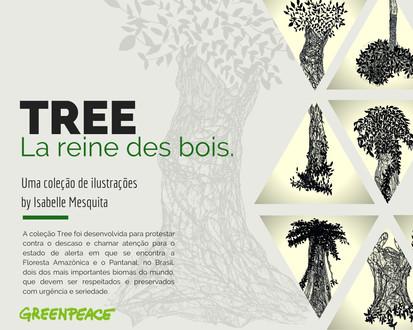 #TREE COLLECTION:la reine des bois.