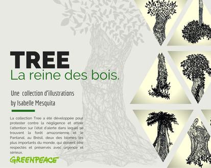 #TREE COLLECTION: la reine des bois.