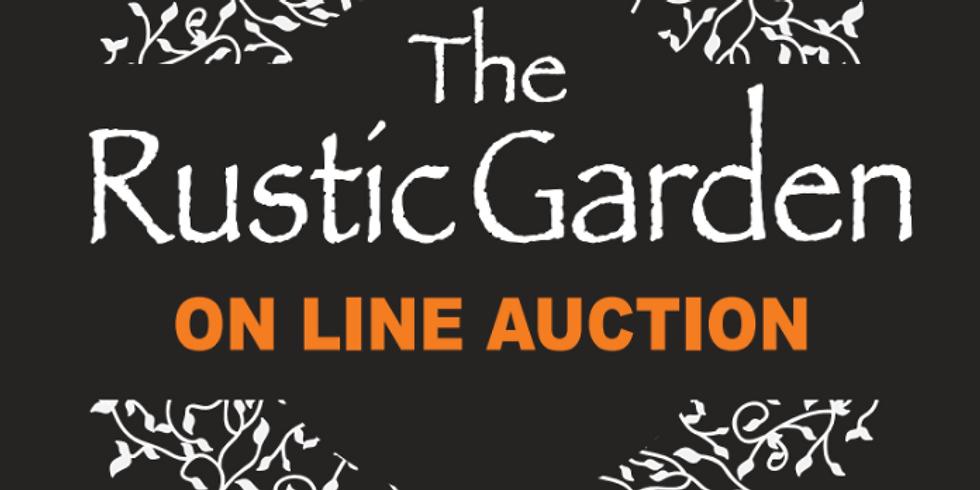 Rustic Garden Online Auction
