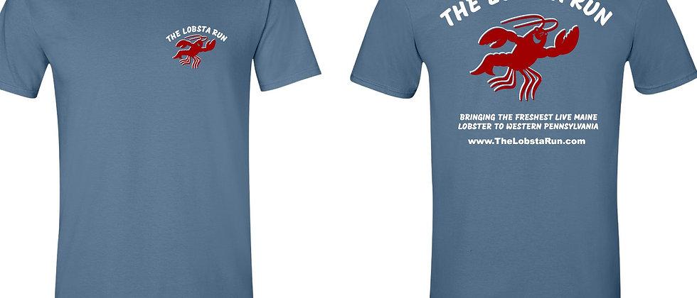 T-shirt- Indigo Blue