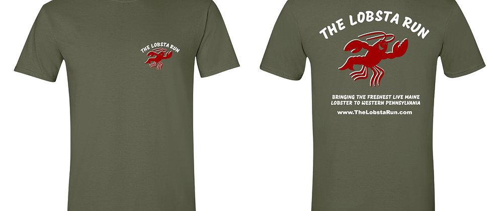 T-shirt- Military Green