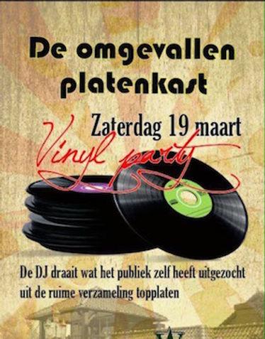 Real Vinyl Party met De Omgevallen Platenkast