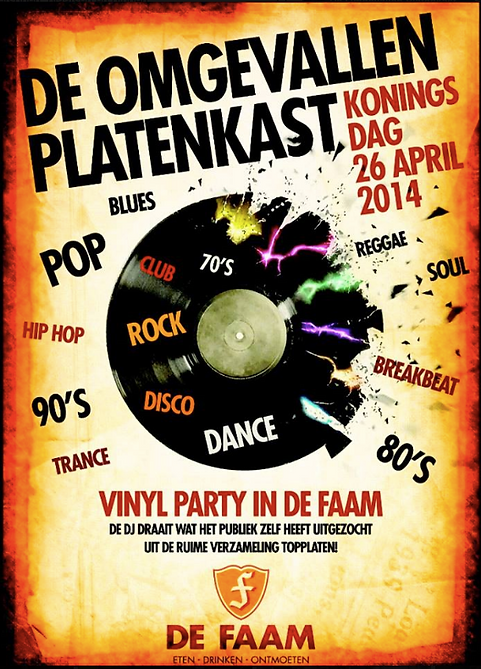 Vinyl Party @ De Faam Hoogland