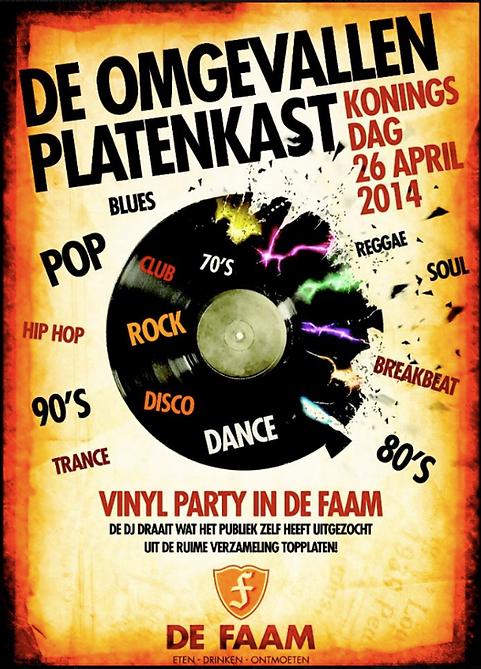 Vinyl Party @ De Faam Hoogland