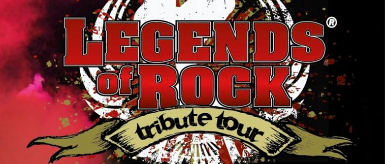 De Omgevallen Platenkast bij Legends Of Rock in Silverdome Zoetemeer