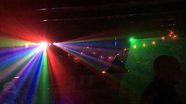 Disco verlichting met oa Laser