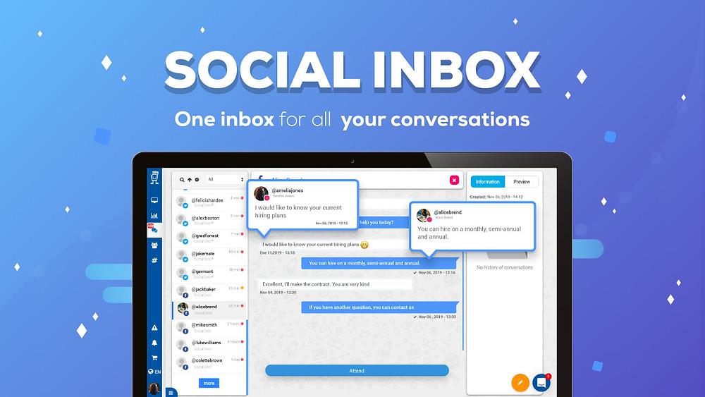 social inbox for task assigning