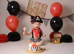Pirate Cake Smash