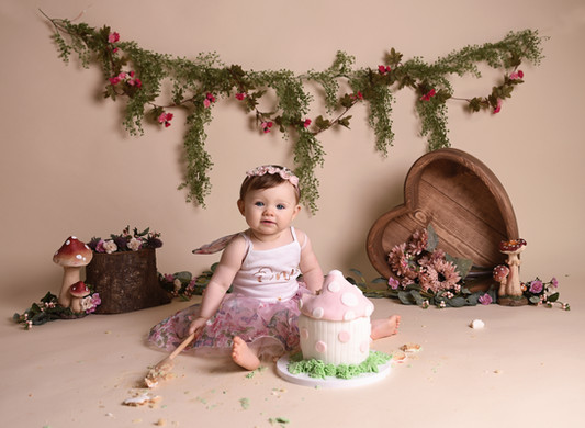 Cake Smash Photographer, North Wales