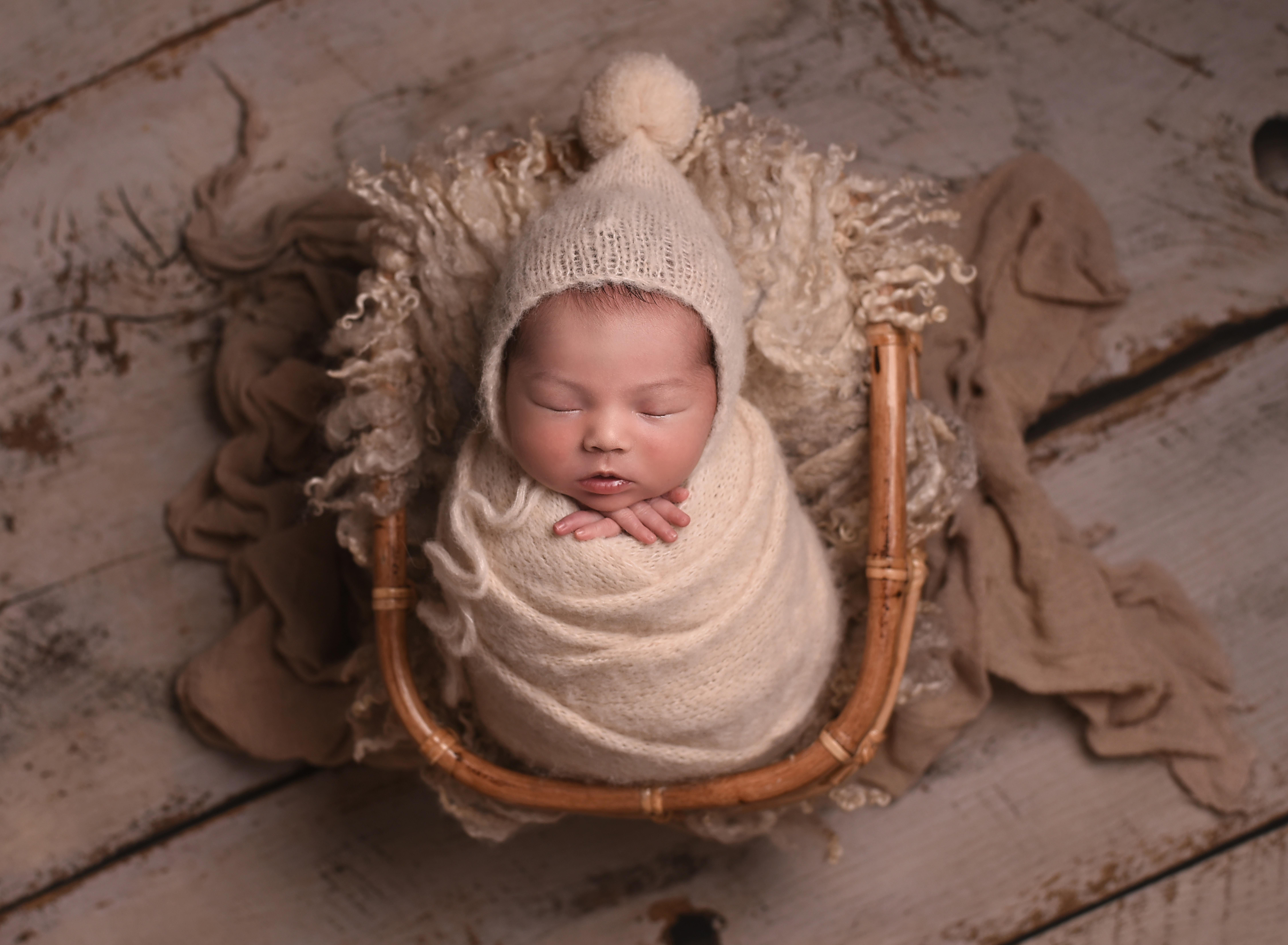 Newborn photographer, Llandundo, North W