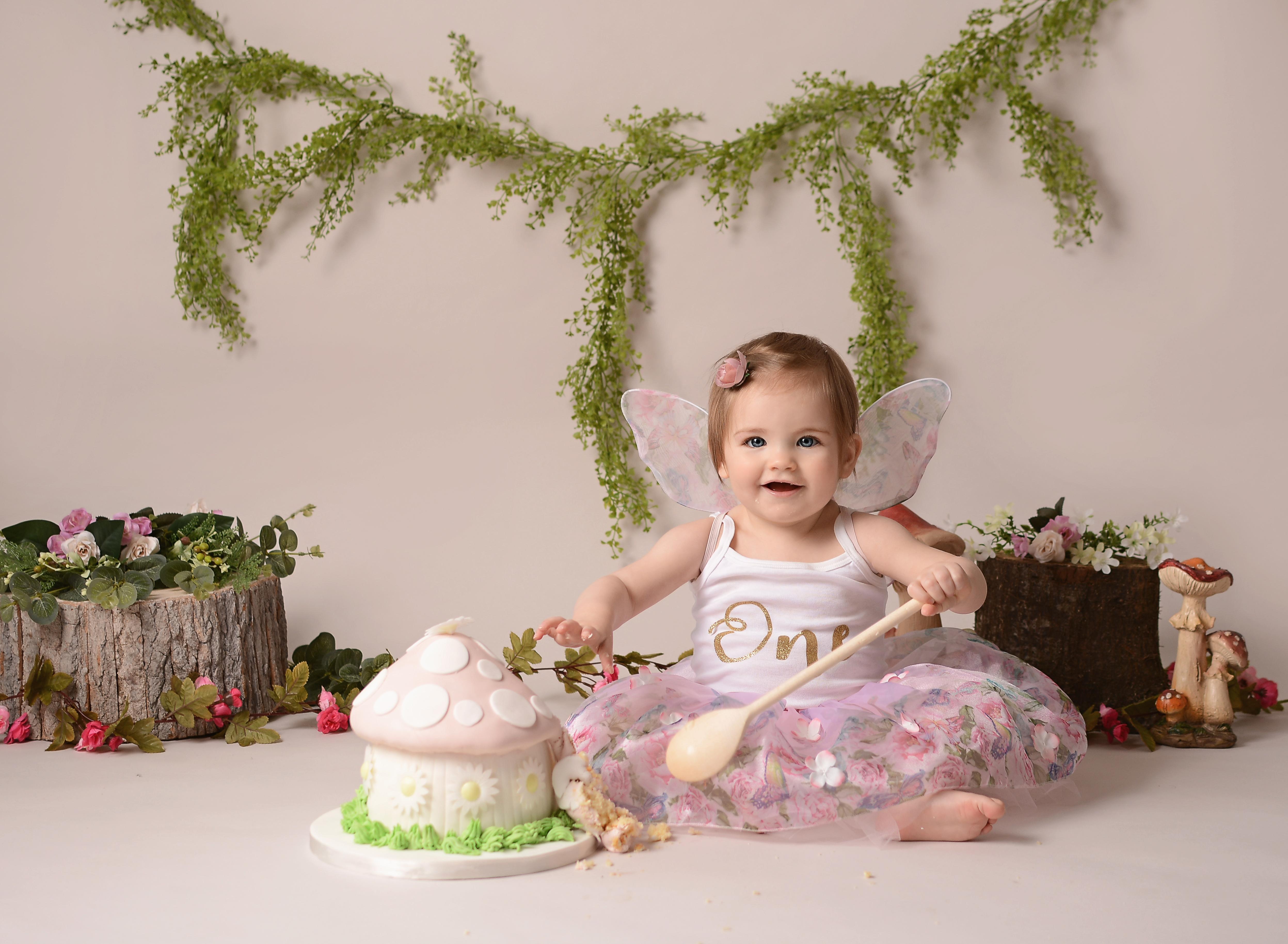 Fairy cake smash