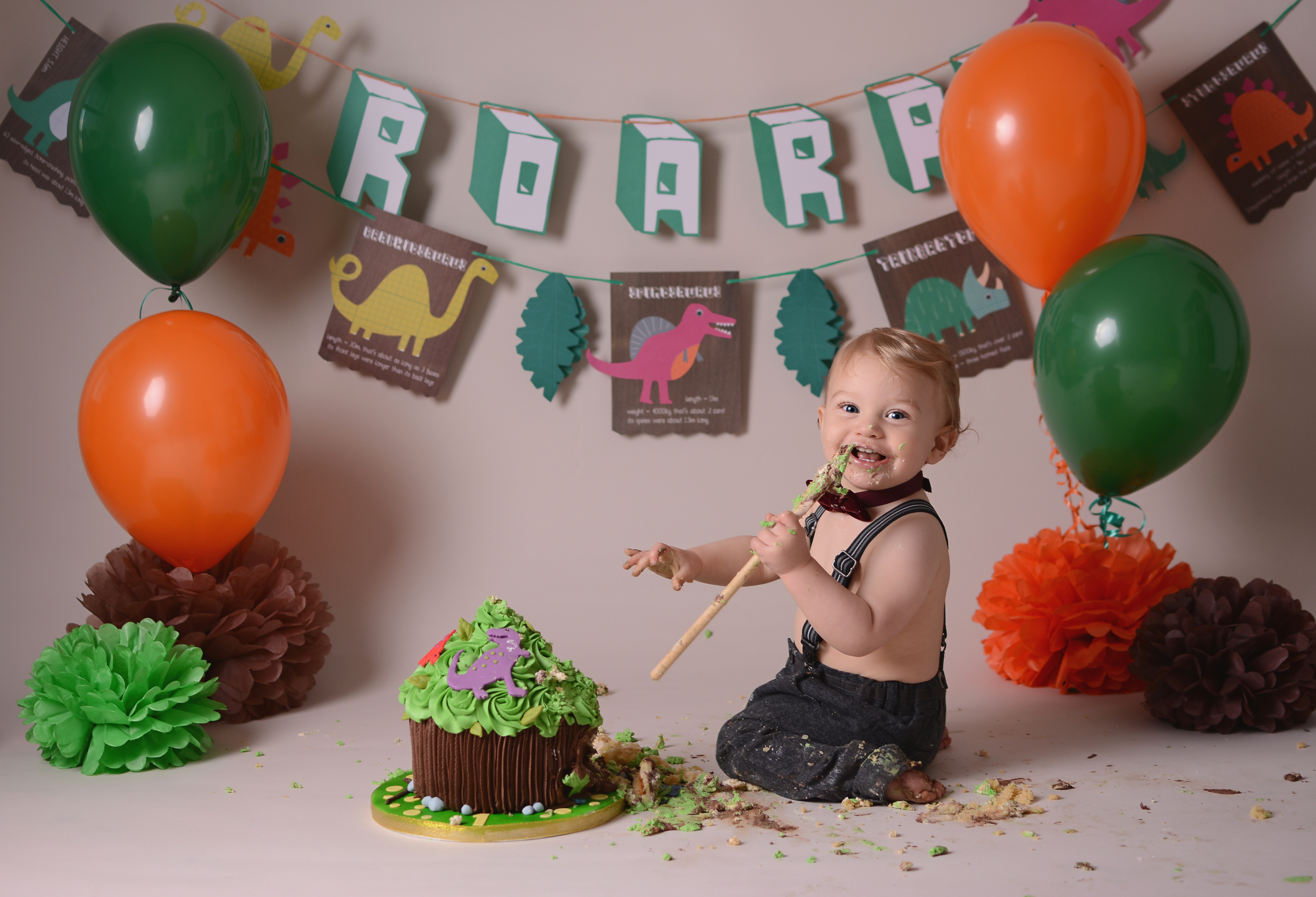 Cake Smash Photographer North Wales