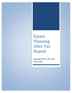 Estate Planning After Estate Tax Repeal.