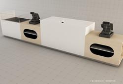Comptoir caisses