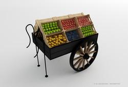 Chariot à fruits